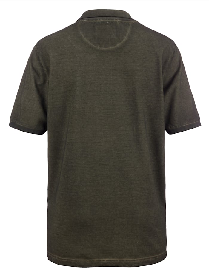 Tričko s Oily dyed