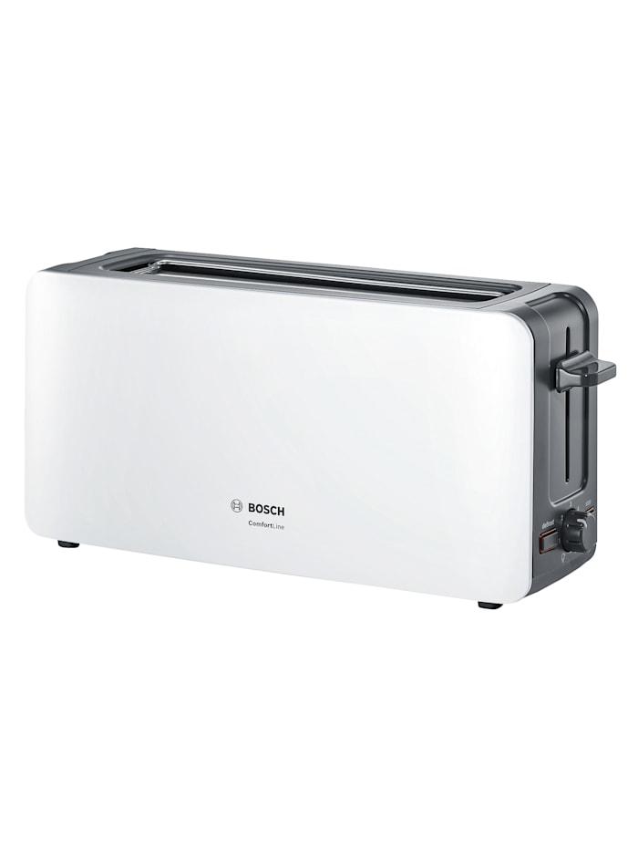 Bosch Bosch brödrost med långt rostfack TAT6A001, vit