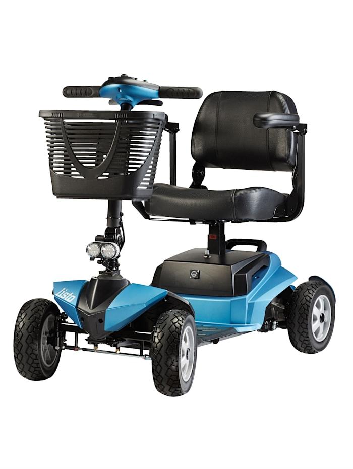 BECHLE Elektro-Mini-Scooter 6 km/h mit Licht (Reichweite ca. 21km), frostblau matt
