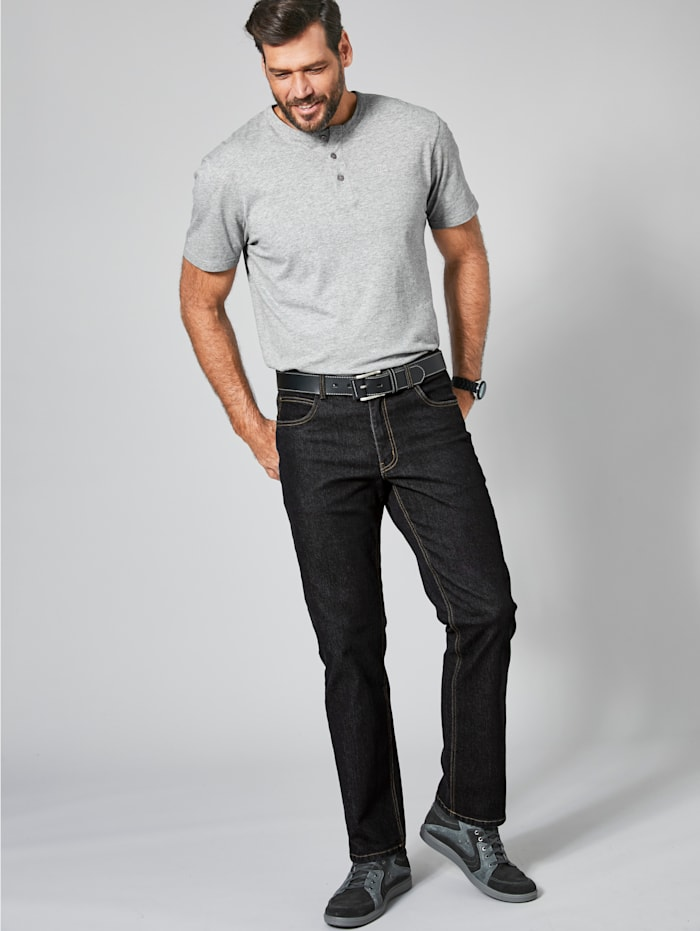 Men Plus Jeans, Black stone