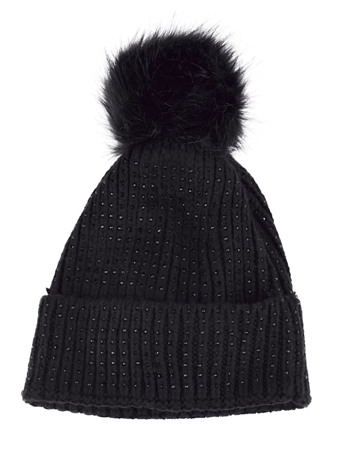 MONA Knitted hat, Black
