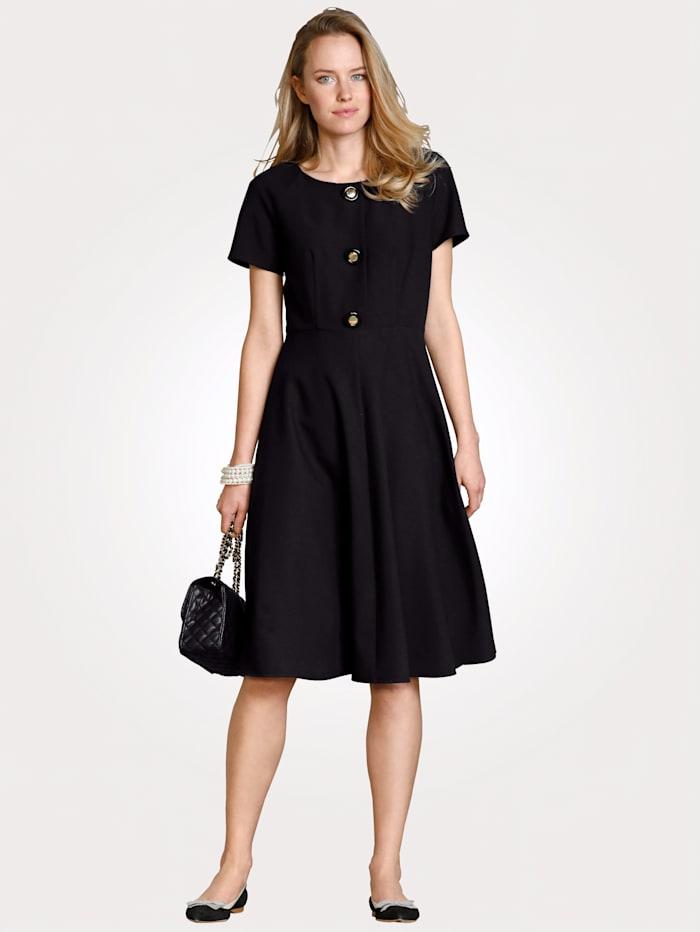 MONA Kleid in bewährter Ganzjahres-Qualität, Schwarz