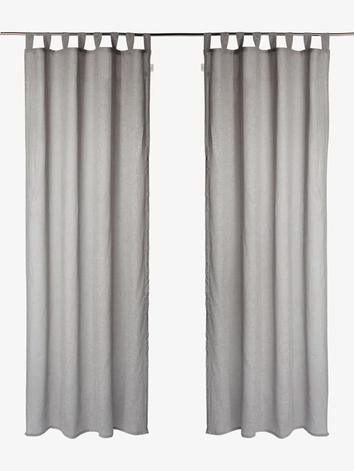 Tom Tailor Vorhang mit Leinen, grey