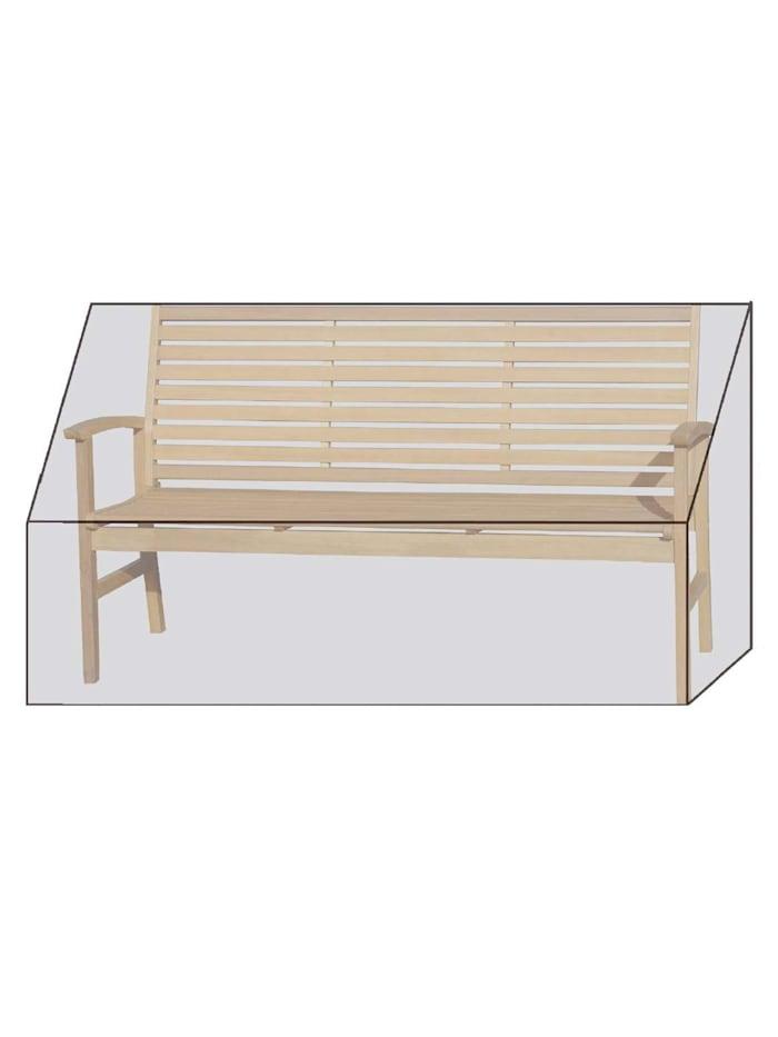 Grasekamp Black Premium Gartenbankhülle  160x60x85cm / garden bench cover /  atmungsaktiv / breathable, Schwarz