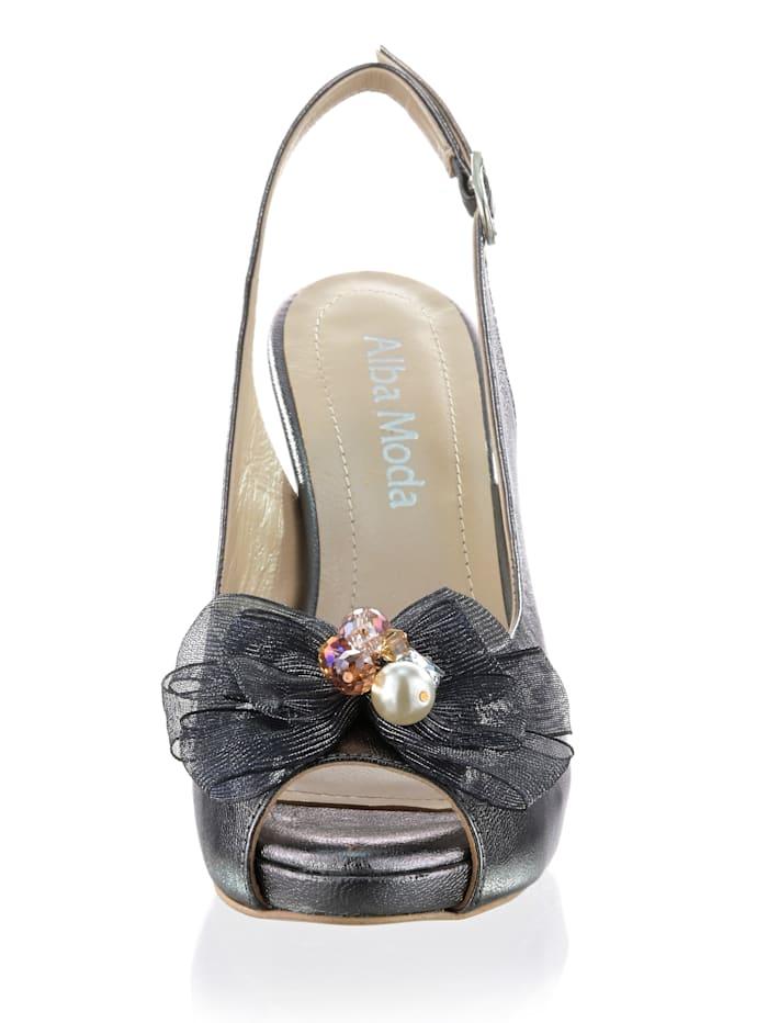 Sandalette als femininer Peeptoe