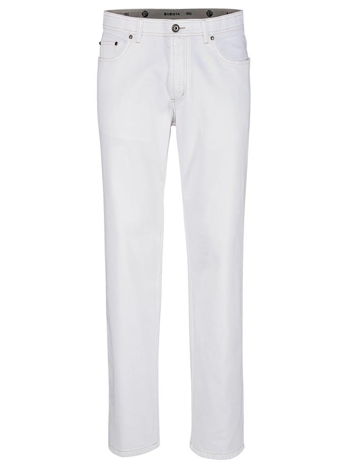 BABISTA Jeans met stretch, Wit