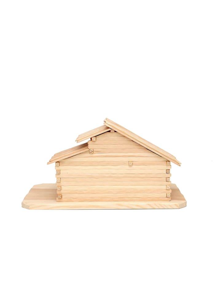 Holz Stall für heilige Familie