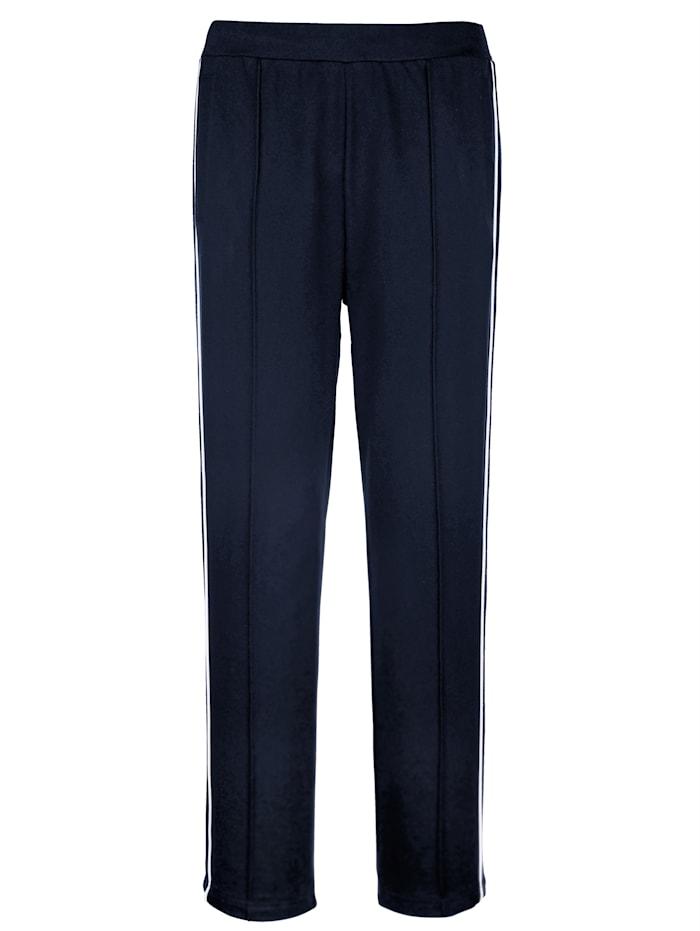 Pantalons de loisirs par lot de 2 à passepoil côtés