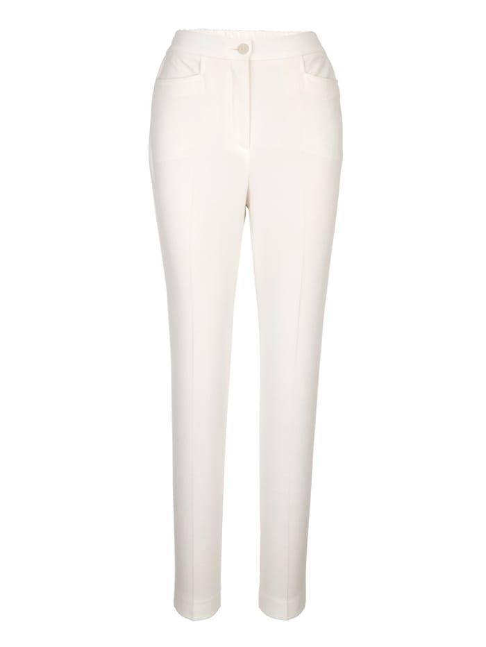 Pantalon en matière satinée élégante