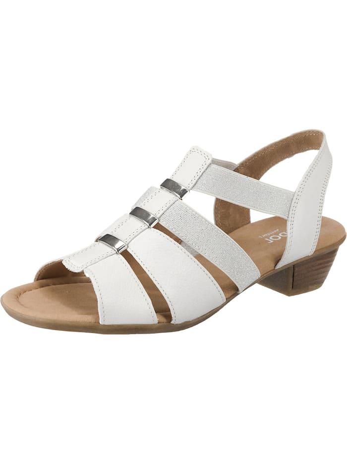 Gabor Klassische Sandaletten, weiß