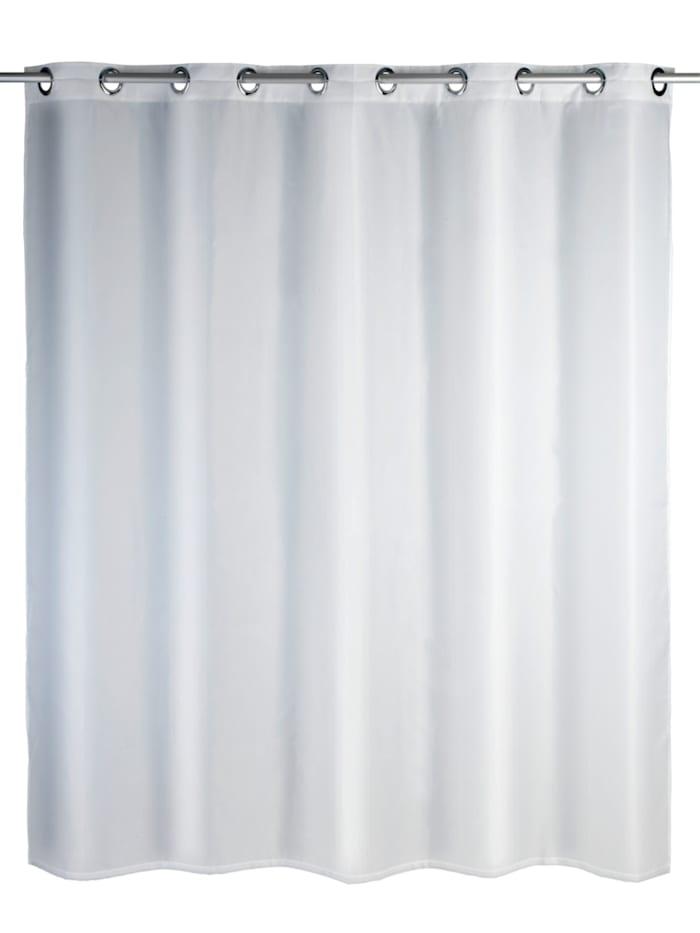 Duschvorhang Comfort Flex Weiß, Textil (Polyester), 180 x 200 cm, waschbar