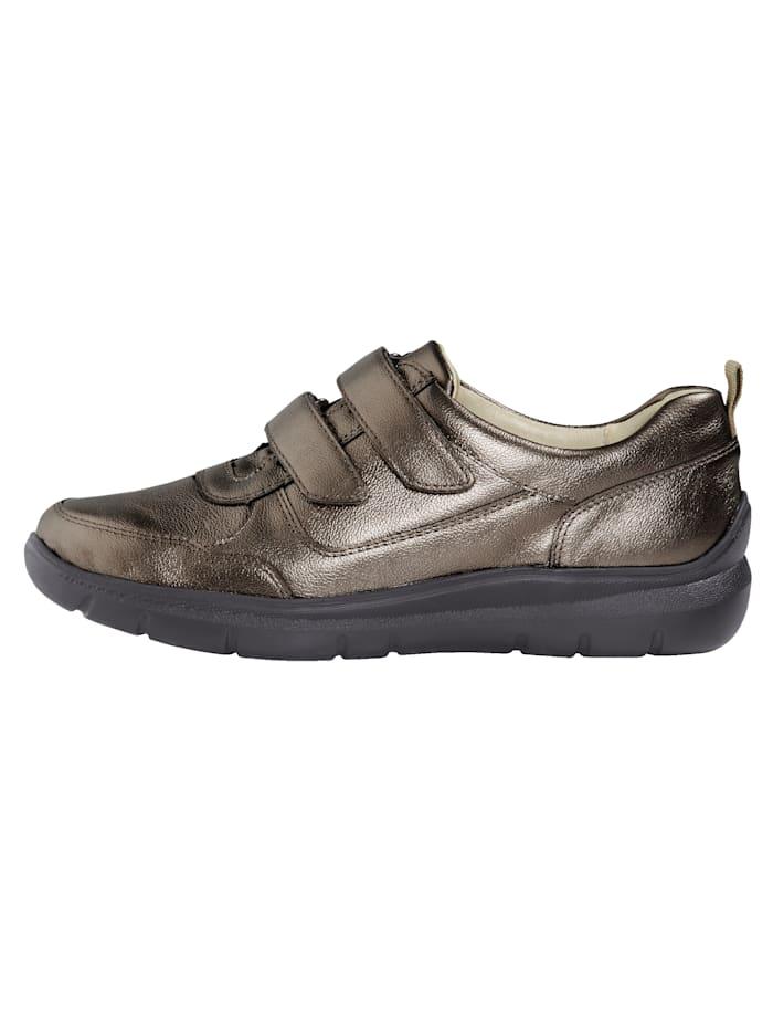 Chaussures basses à scratch avec semelle intérieure pro-active