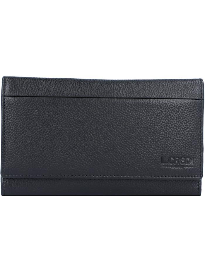 L.Credi Chrissi Geldbörse 17 cm, schwarz