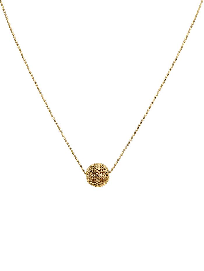 Diemer Gold Collier en or 750, Jaune