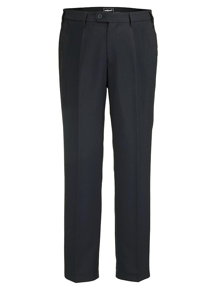 Men Plus Hose Regular Fit, Marineblau