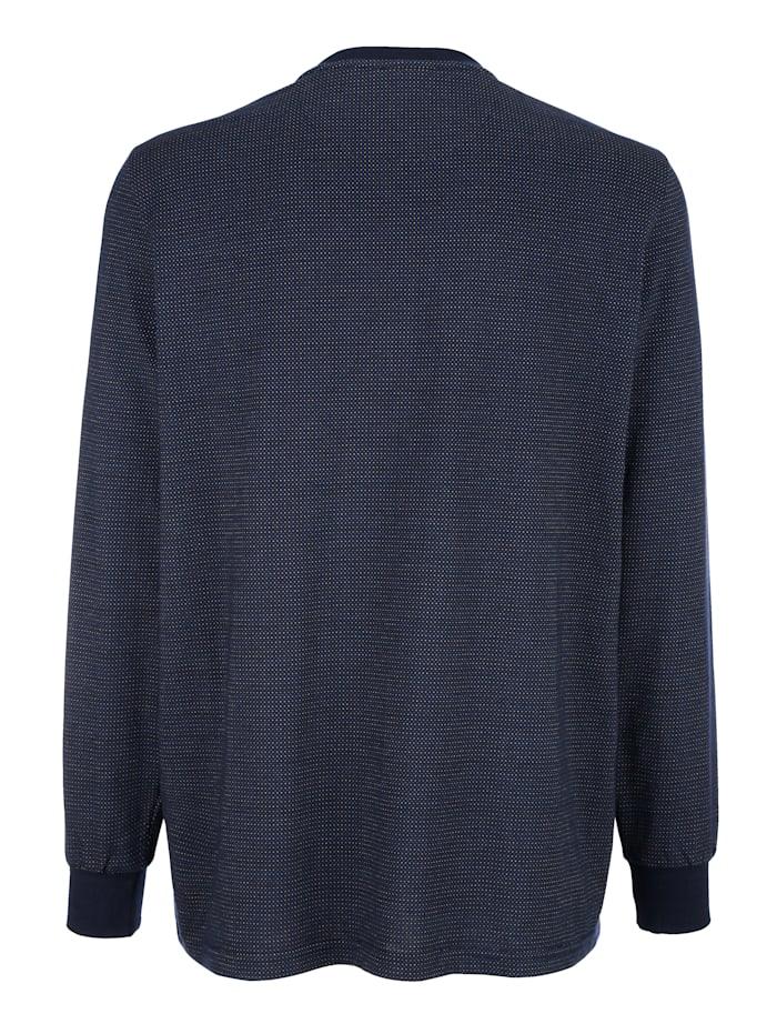 Shirt met handige borstzak