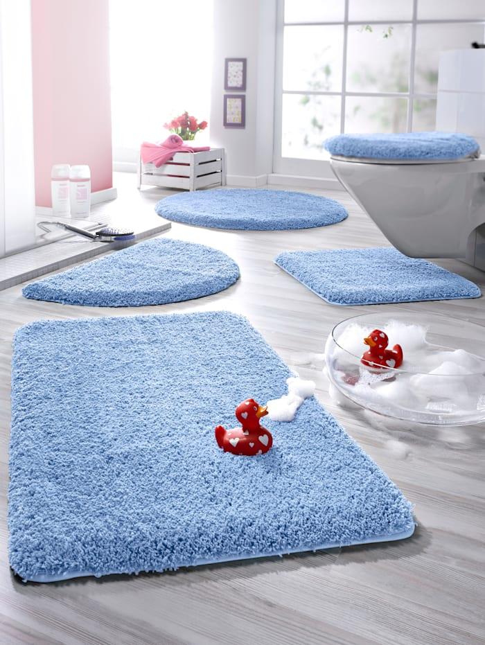 """Kylpyhuoneen mattosarja """"London"""", vaaleansininen"""