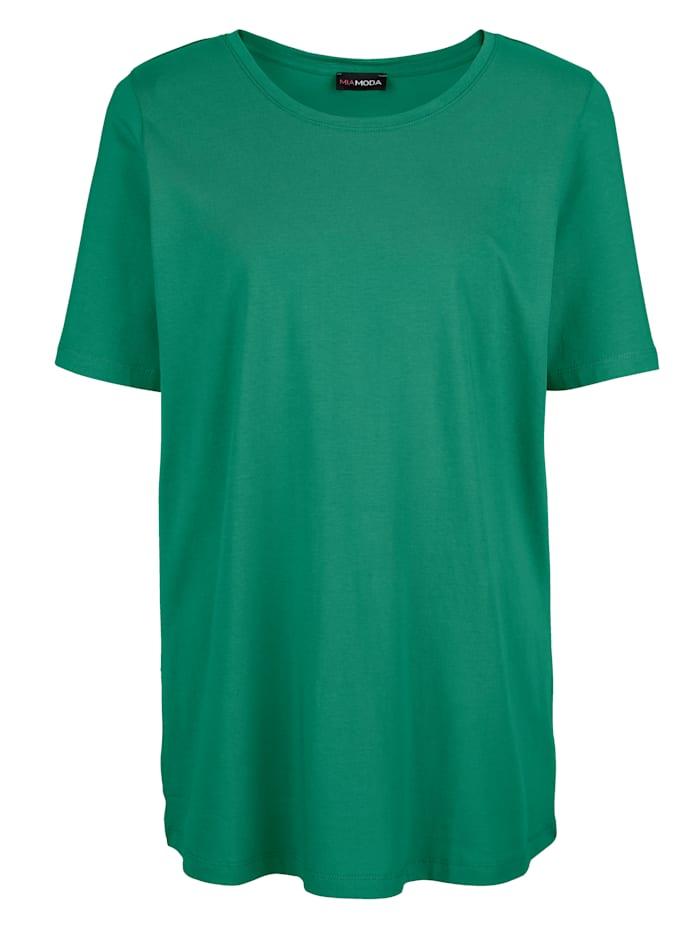 Shirt met ronde hals