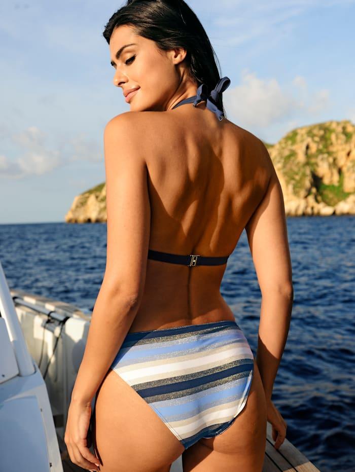Bikini mit Glitzereffekten