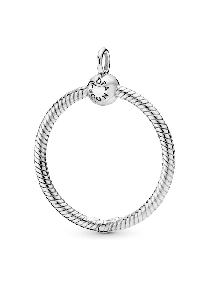 Pandora Kettenanhänger - Medium O Pendant - 398256, Silberfarben