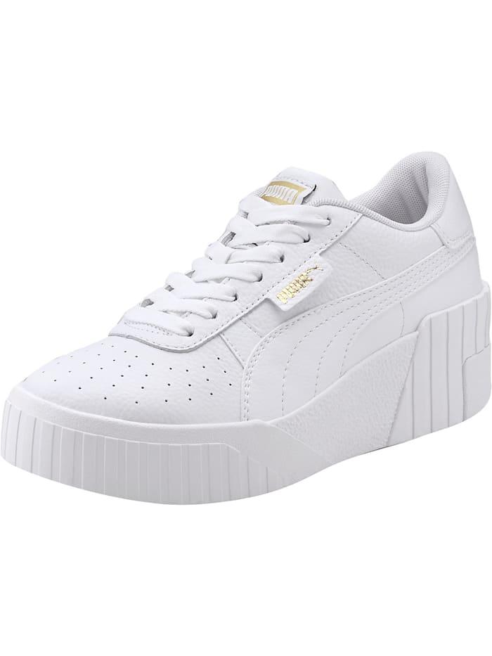 Puma Cali Wedge Wn's Sneakers Low, weiß