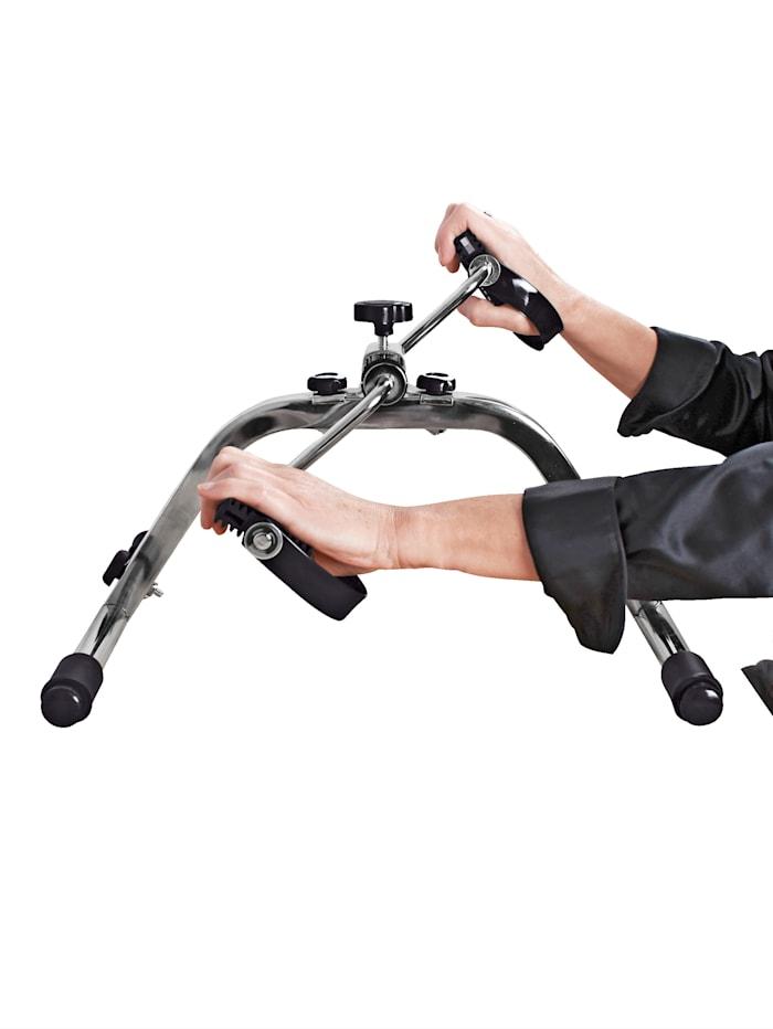 GHZ Pedaltrainer - effektives und dennoch gelenkschonendes Bewegungstraining, grau