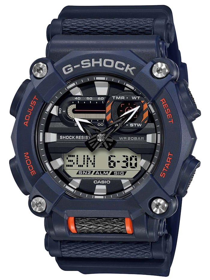 Casio G-Shock Herrenuhr Blau, Schwarz