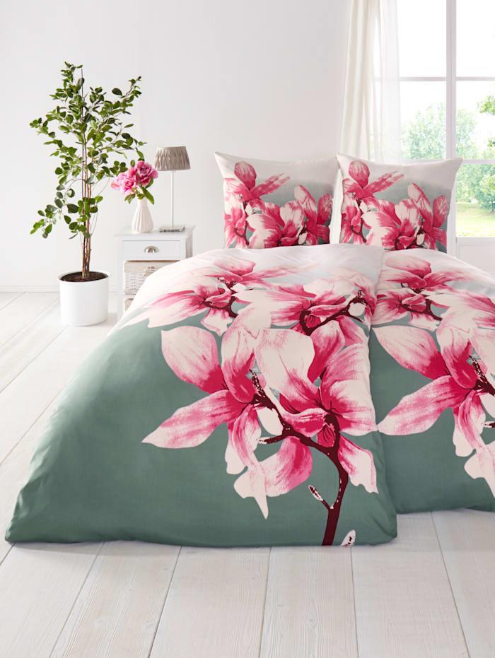 Casamaxx 4-delige set bedlinnen, Roze