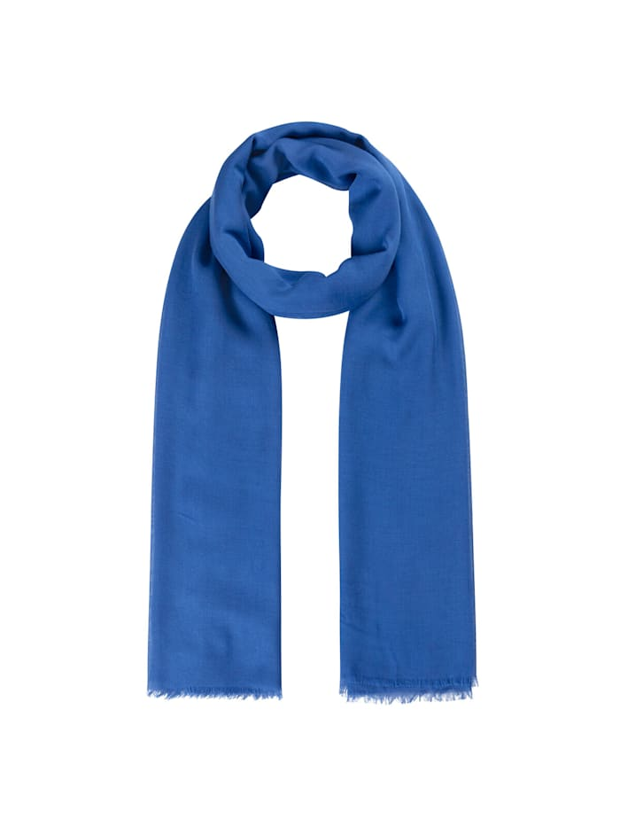 Codello Supersofter XL-Schal aus Bambus, royal blue
