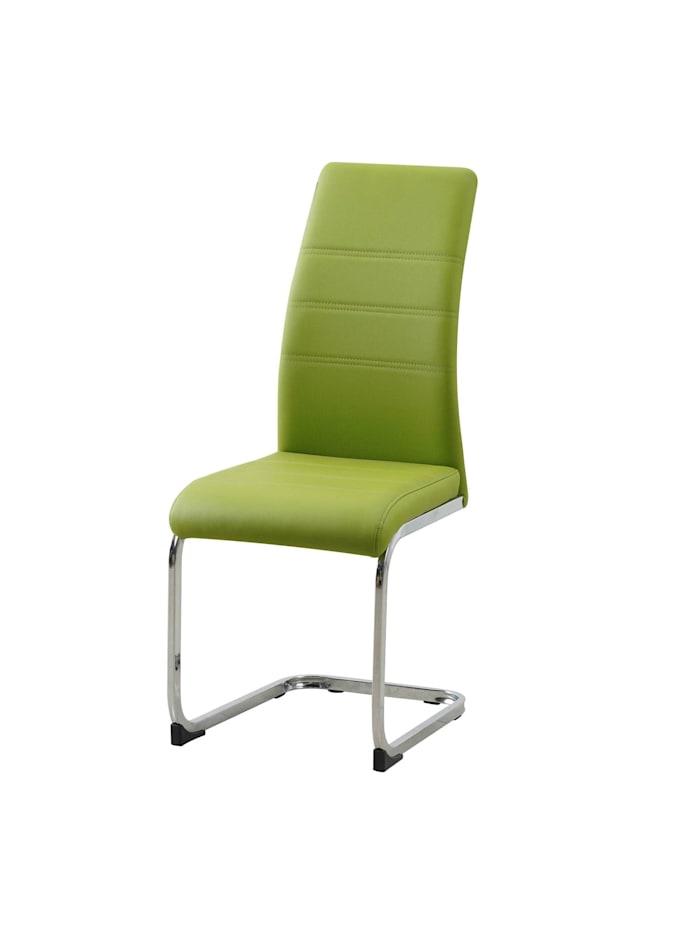 Schwingstuhl 2er Set PU grün SallyC