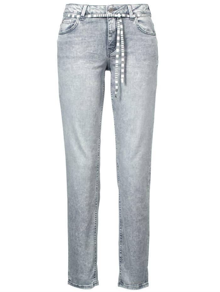 Rosner Jeans im Boyfriend-Style, Hellgrau