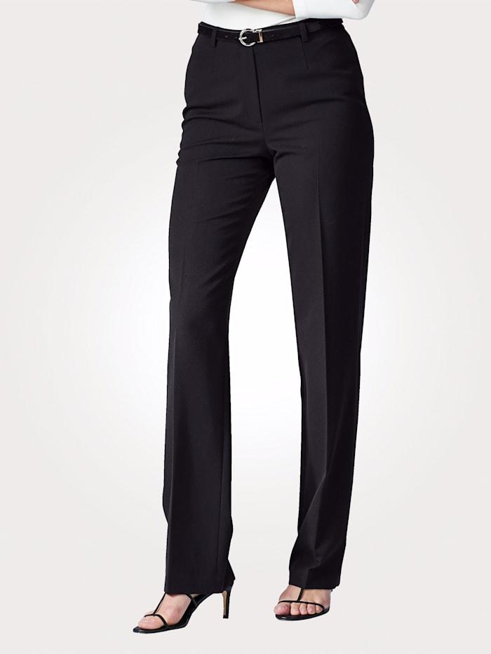 Artigiano Pantalon extensible, Noir