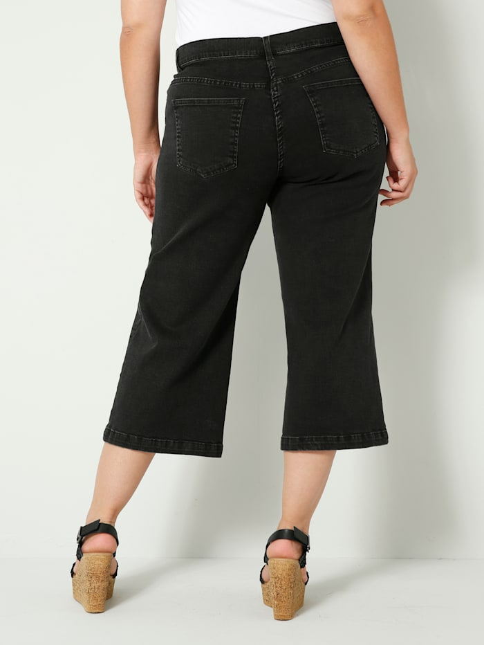 Jeans av lätt elastiskt denimmaterial