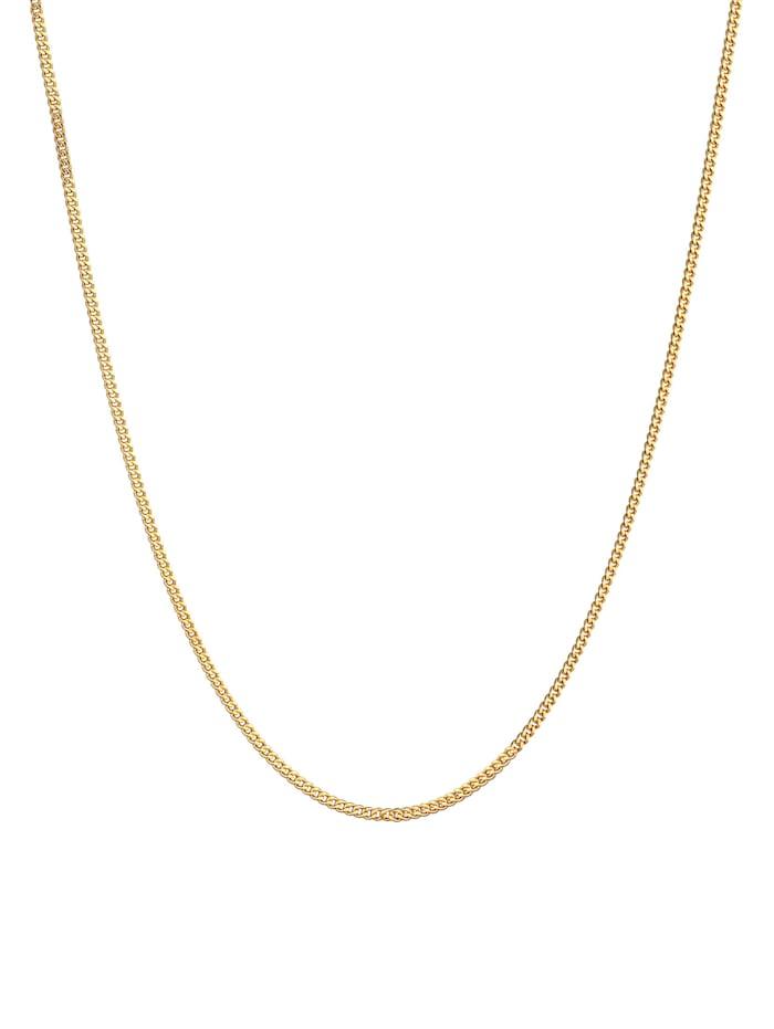 Halskette Panzerkette Basic Für Anhänger 925 Silber Vergoldet