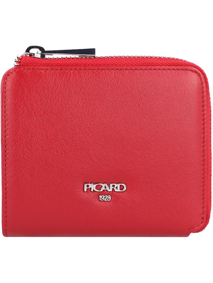 Picard Bingo Geldbörse Leder 11,5 cm, rot