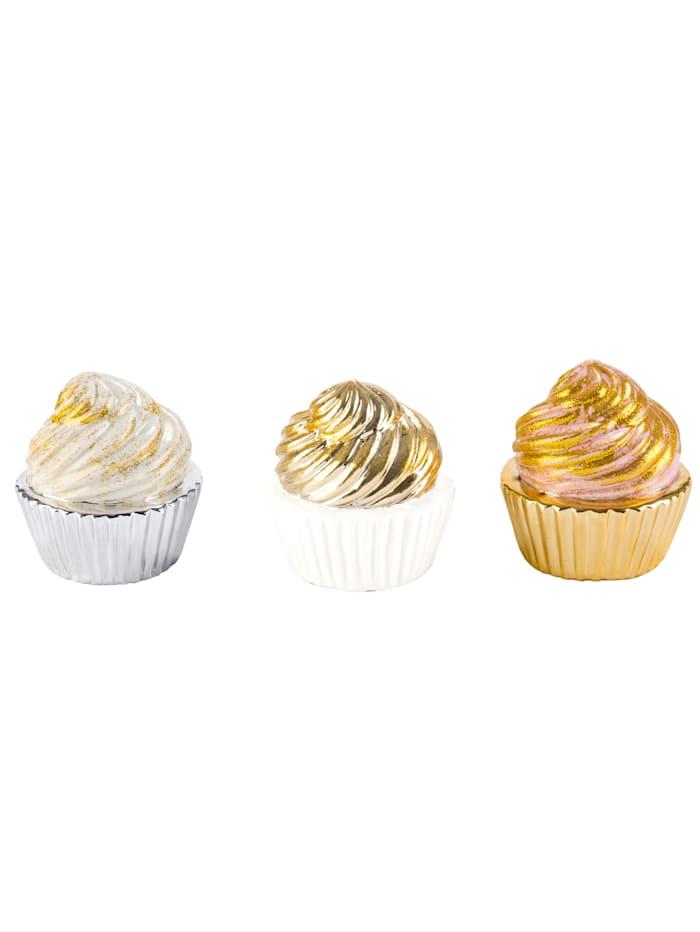 Deko-Cupcake-Set, 3-tlg.