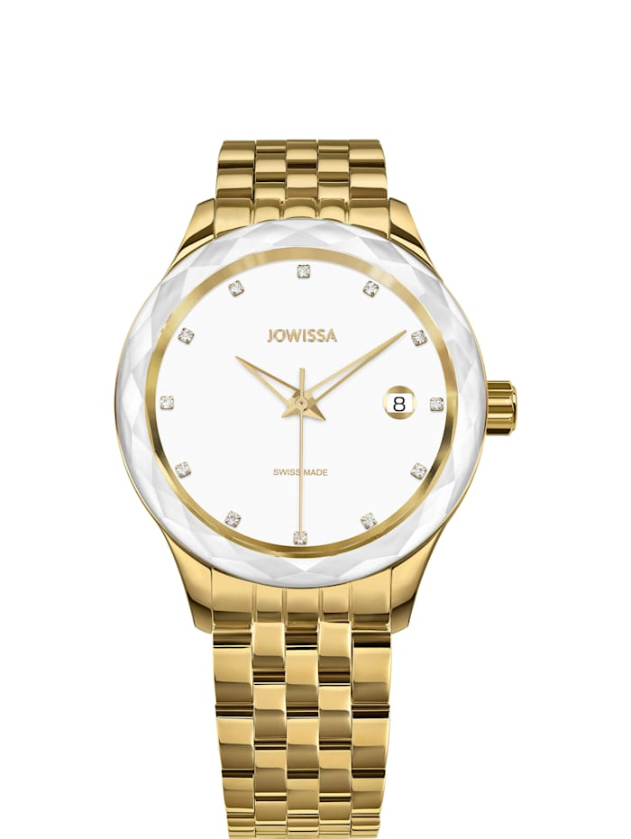 Jowissa Quarzuhr Tiro Swiss Ladies Watch, gold