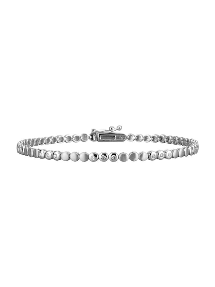 Diemer Platin Armband in Platin 950, Weiß