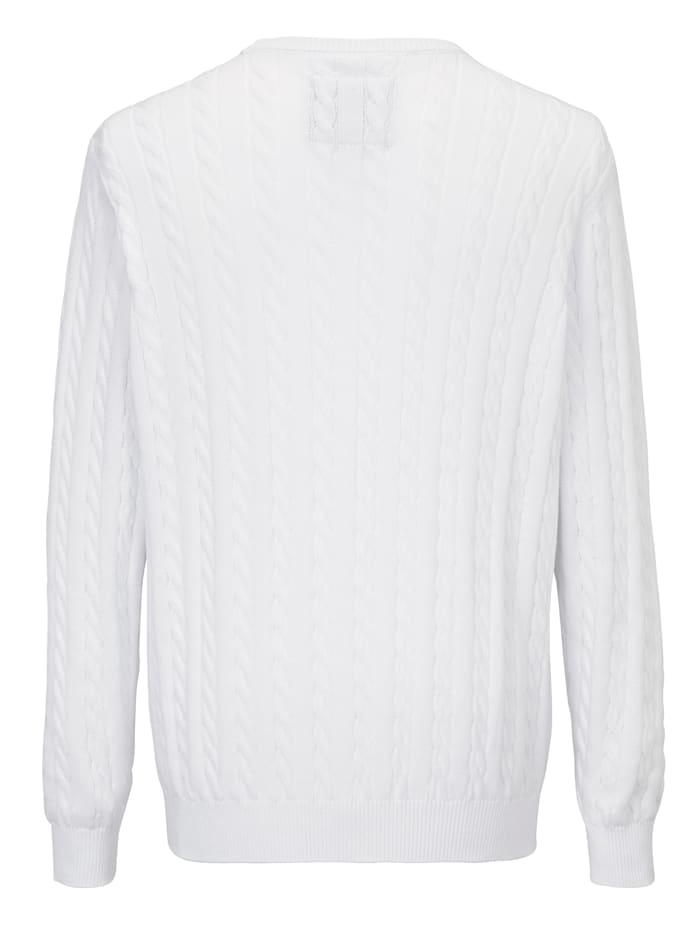 Pulovr z čisté bavlny