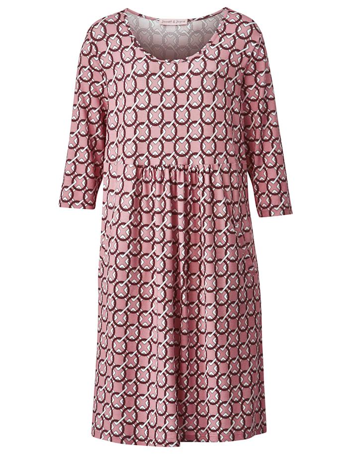 Jersey-Kleid mit Eingriffstaschen