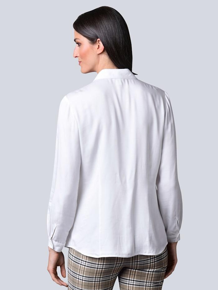 Bluse aus reiner Viskose-Qualität