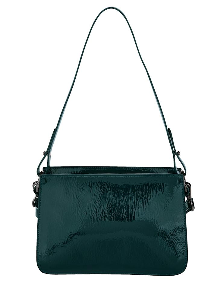 Handtasche aus hochwertigem Lack-Softmaterial