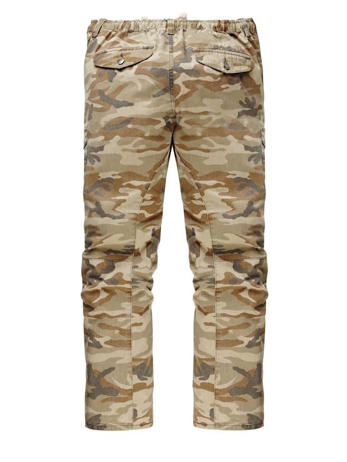 Cargohose Camouflage