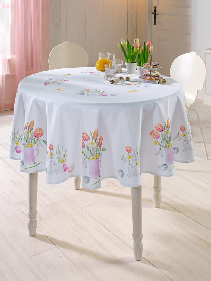 Webschatz Tischwäsche 'Tessa', weiß/bunt