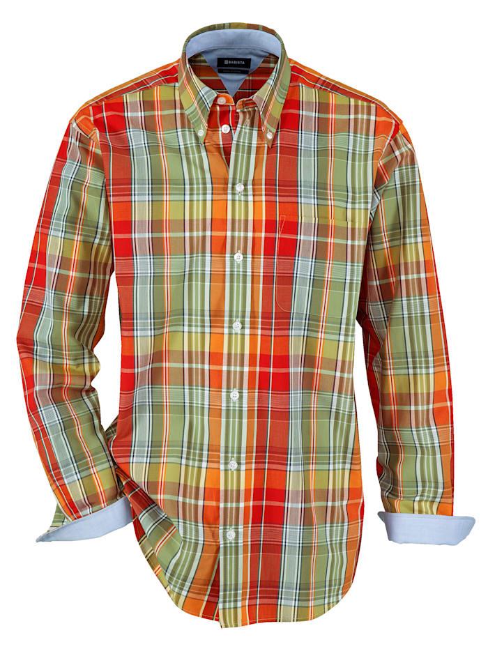 BABISTA Overhemd, Oranje/Rood