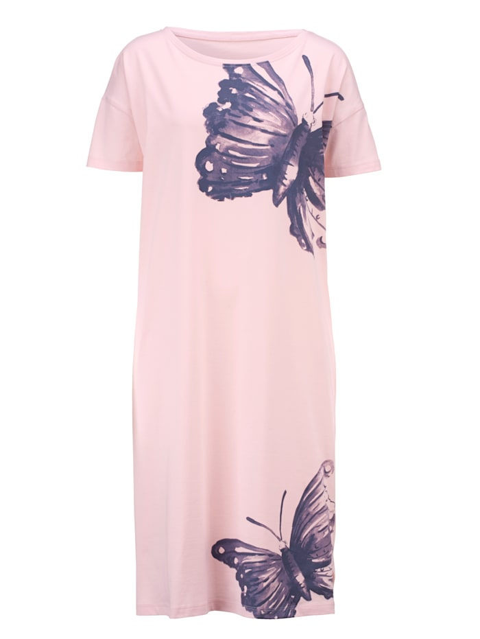Nachthemd mit hübschem Schmetterling-Dessin