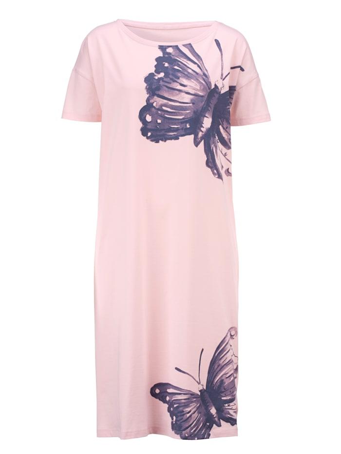 Nachthemd met mooi vlinderdessin