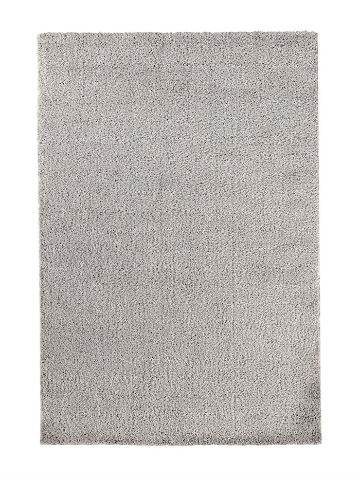 H M Ammon Webteppich 'Friedrich', Silberfarben