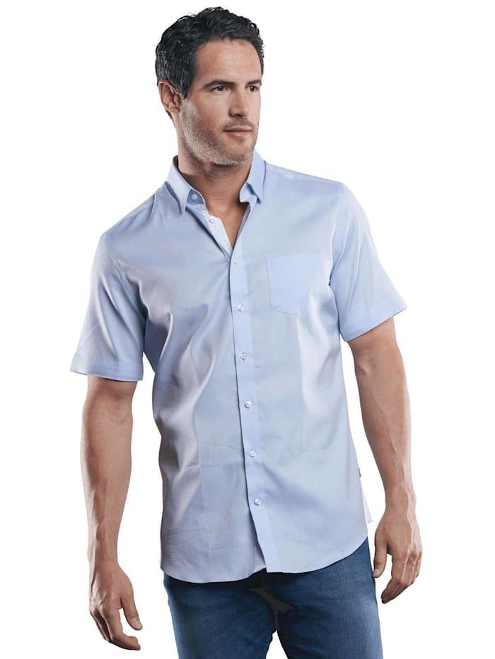 Engbers 100% bügelfreies Hemd, Hellblau