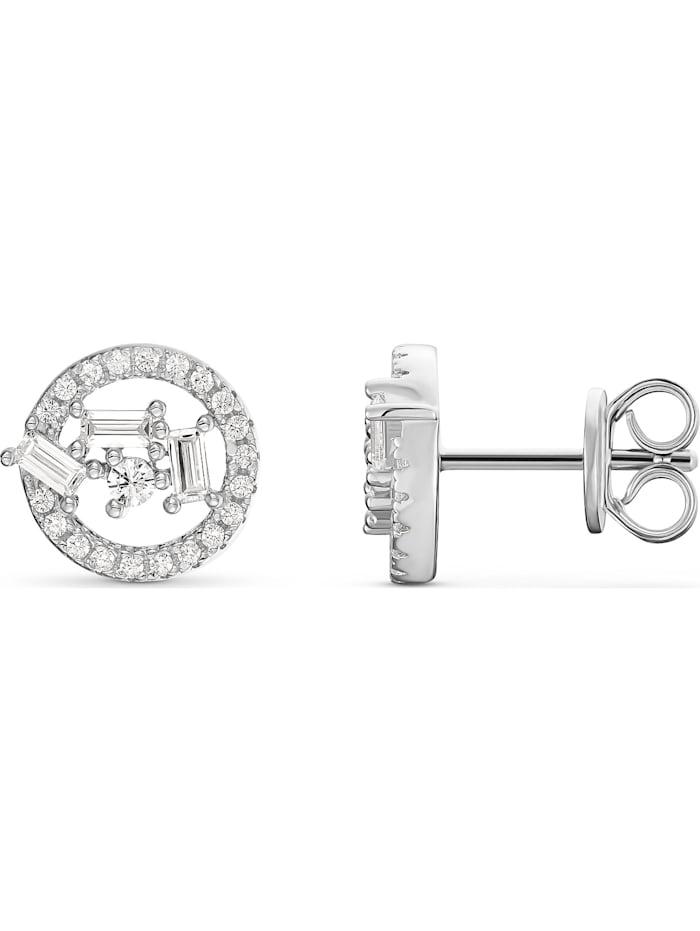 FAVS Damen-Ohrstecker Ohrstecker aus Sterling Silber 925er Silber 98 Zirkonia